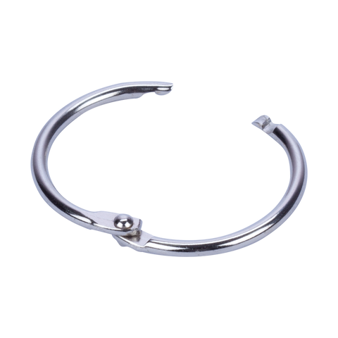 Hinged Rings - Nickel Binding Rings