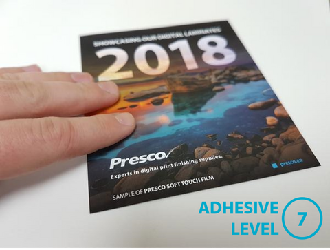 Soft Touch Ultimate Thermal Laminating Film - Presco Showcase Films
