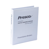 Presentation Ring Binders White