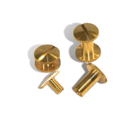 Serrated Edge Binding Screws
