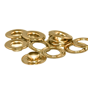 Banner Eyelets Metal - Nickel & Brass