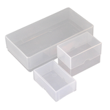 Compliment Slip Boxes - Rigid Plastic