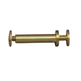 Double Base Binding Screws - Brass