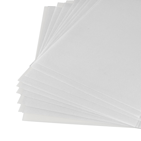 Waxing Paper for Drilling - Pack of 10