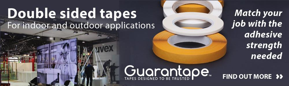 Guarantape adhesive tapes