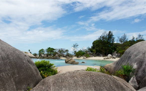 Relaxing on the Beautiful and Tranquil Belitung Island