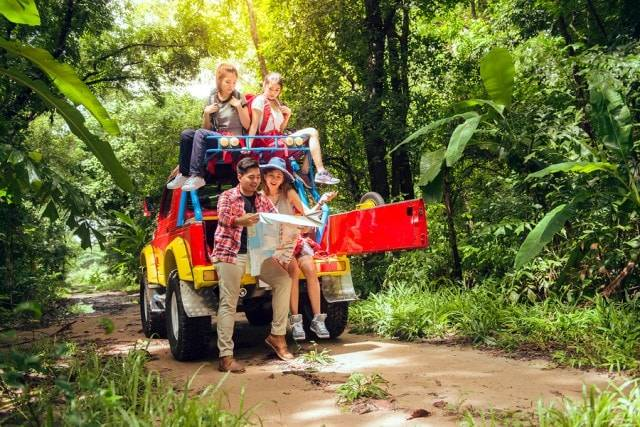 Exciting 4WD Ride and Trek to Fascinating Rainbow Waterfalls