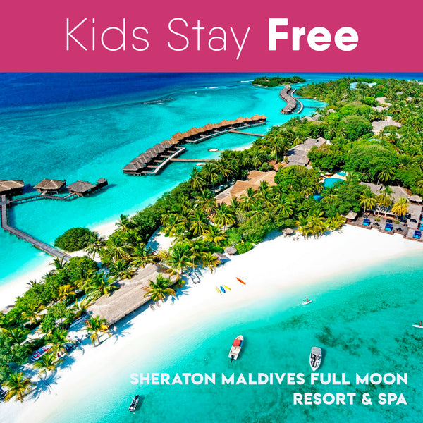 Sheraton Maldives Full Moon Resort & Spa 满月岛喜来登度假村