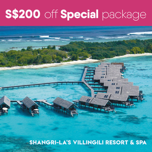 Shangri-La's Villingili Resort & Spa 马尔代夫香格里拉大酒店