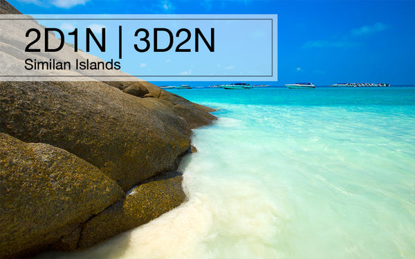2D1N(3D2N) Similan Islands Tour, Thailand