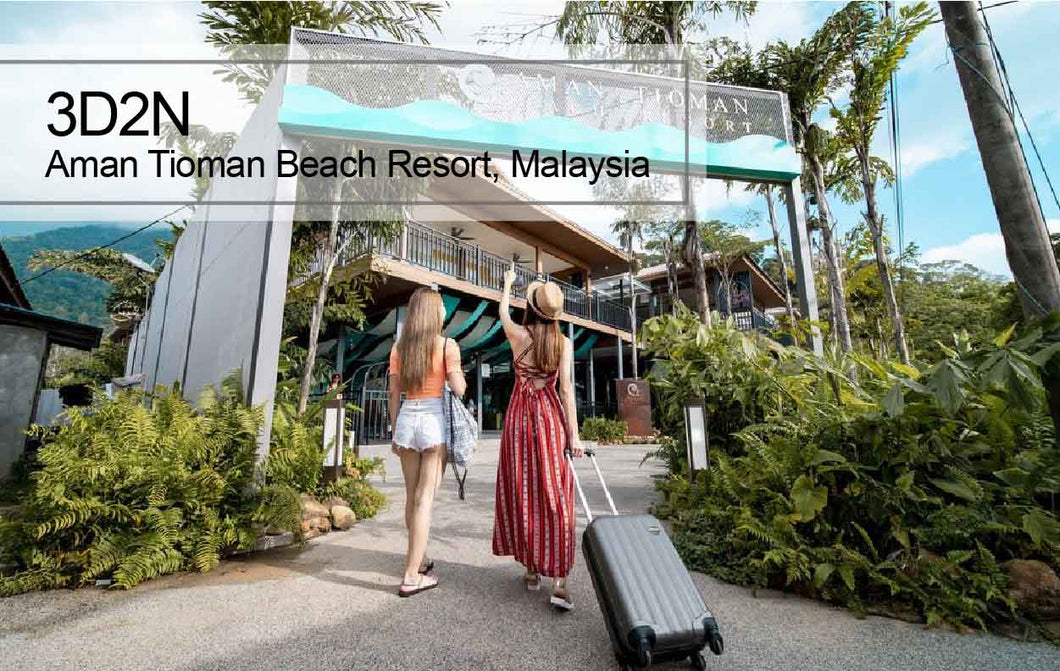 3D2N Tioman Island Aman Resort Snorkelling / Diving / OW / AOW / FreeDiver Package, Malaysia