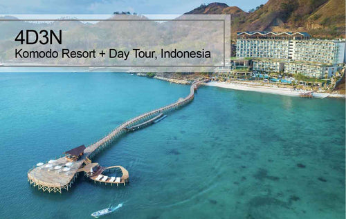 4D3N Komodo Resort + Day Tour Package