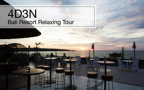 4D3N Bali Resort Relaxing Tour, Indonesia (Included Taxes)