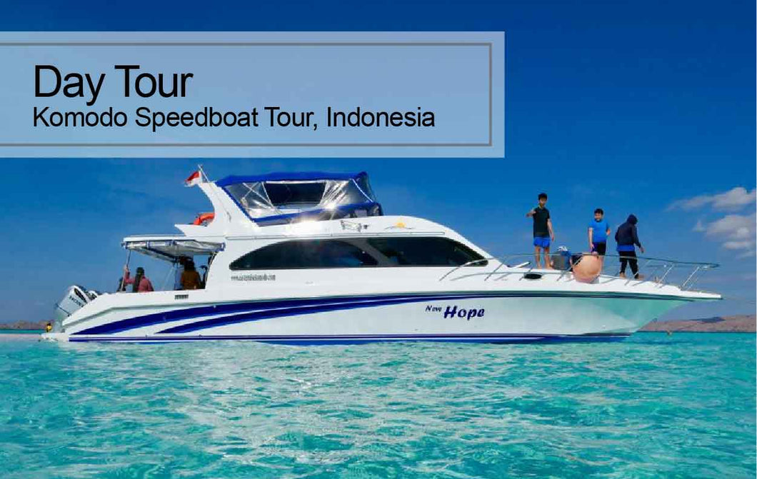 1 Day / 2 Days Komodo Speedboat Tour, Indonesia