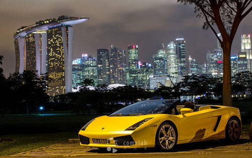Ultimate Drive, The Shoppes at Marina Bay Sands, Singapore