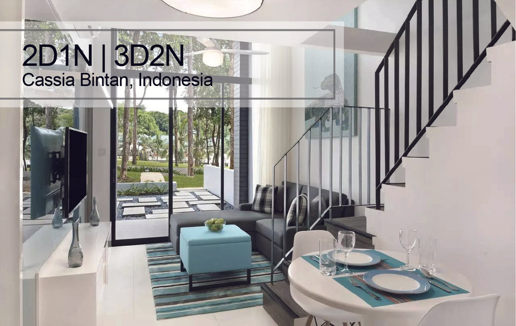 2D1N/3D2N Bintan Cassia Resort, Indonesia