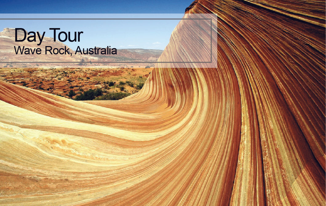 DAY Tour Wave Rock, Australia
