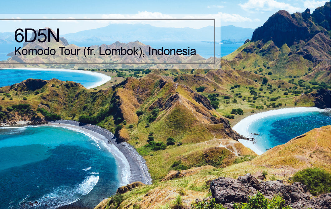 6D5N Komodo Island Tour Package (Depart from Lombok), Indonesia