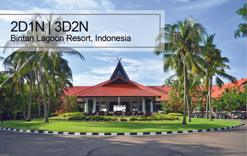 2D1N/3D2N Bintan Lagoon Resort, Indonesia