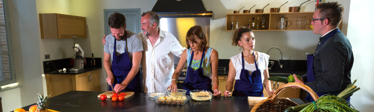 Photo of weekend gourmet cooking course at Chateau de Combis