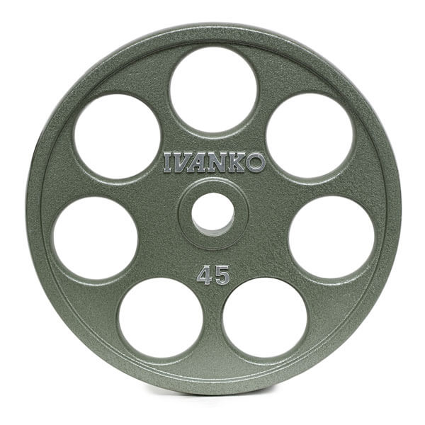 OMEZH Olympic, Machined, E-Z Lift® Plate w/round openings.
