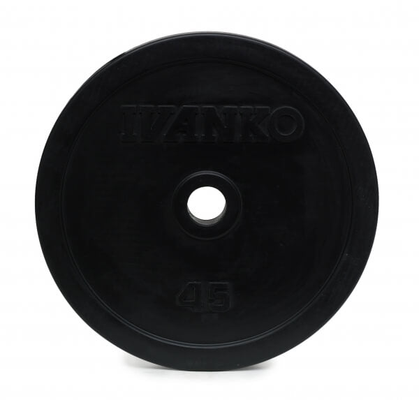CBPP OLYMPIC CALIBRATED POWERLIFTING PLATE, PAINTED.