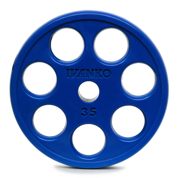 ROEZH Olympic Rubber E-Z Lift® Plate.