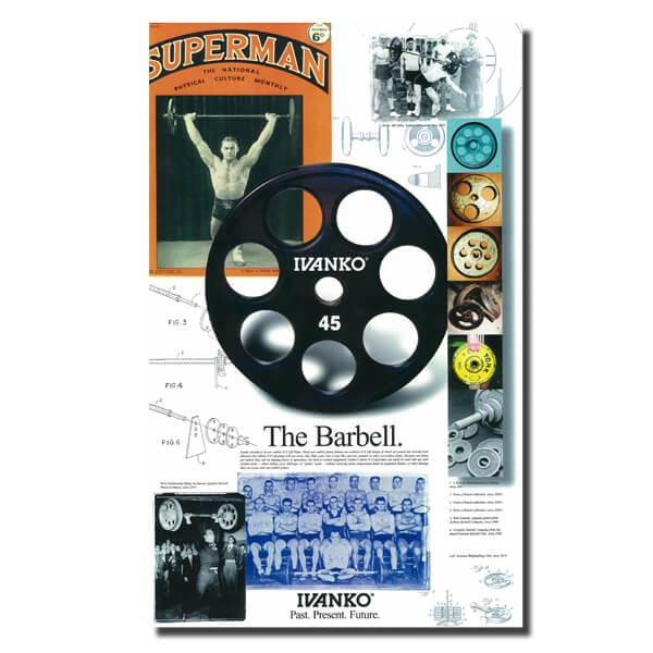 Ivanko History of the Barbell Poster.
