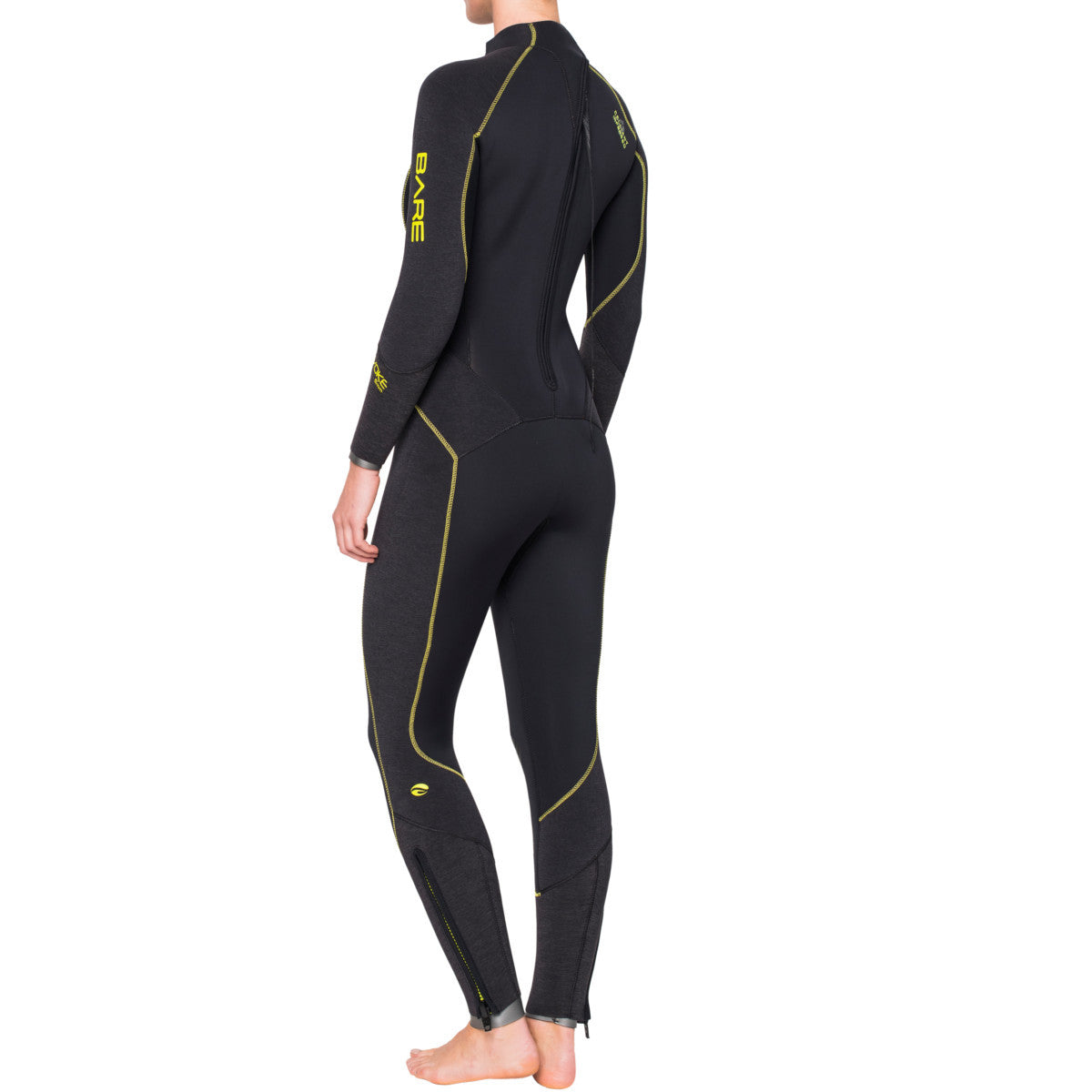 Bare Evoke 7mm Wetsuit: Womens - Oyster Diving Shop - 2