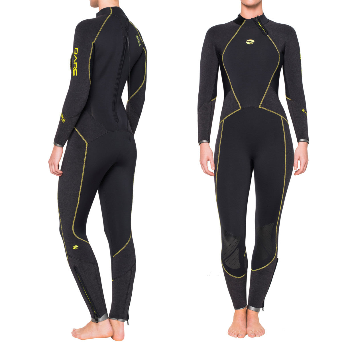 Bare Evoke 5mm Wetsuit: Womens - Oyster Diving Shop - 7