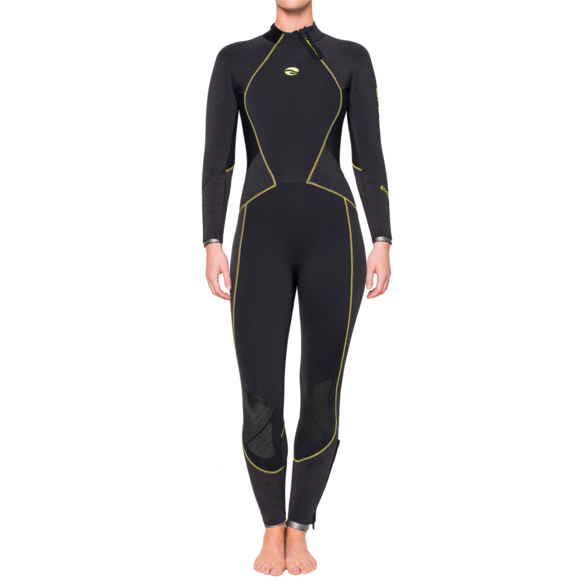 Bare Evoke 5mm Wetsuit: Womens - Oyster Diving Shop - 1