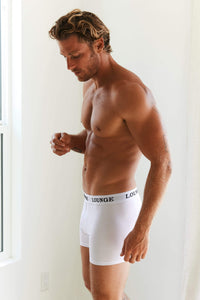 White Boxers Three-Pack