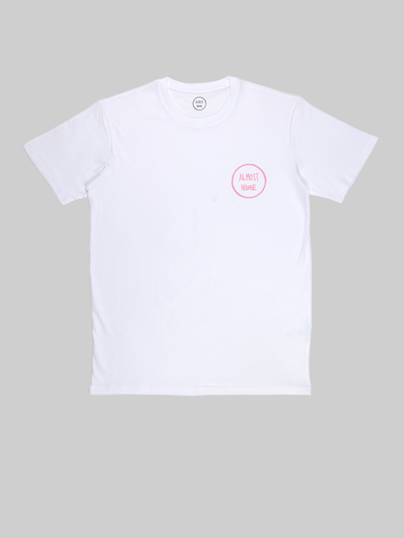 Almost Home Pink Logo T Shirt
