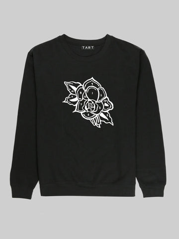 Rose Paint By Numbers Sweatshirt
