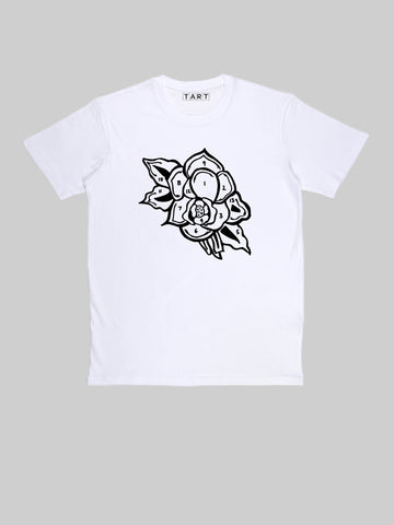 Rose Paint by Numbers Tattoo T shirt