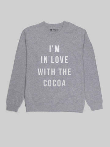 In Love with the Cocoa Grey Sweatshirt