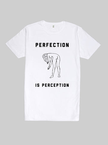 Perfection is Perception Long T Shirt