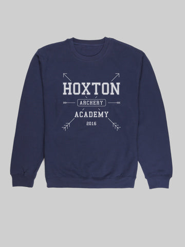 Hoxton Archery Navy Sweatshirt