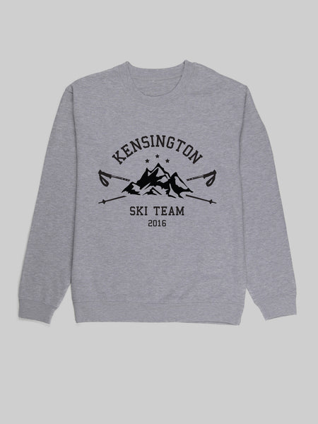 Kensington Ski Team Grey Sweatshirt