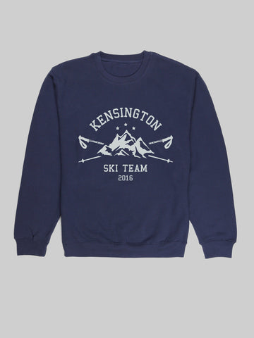 Kensigton Ski Team Navy Sweatshirt