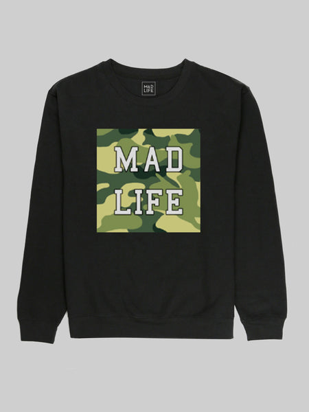 Mad Life Camo Sweatshirt