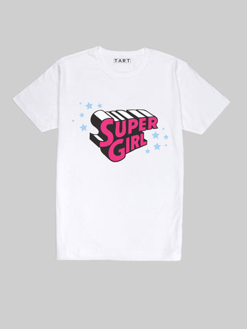 Hot Pink Super Girl T shirt