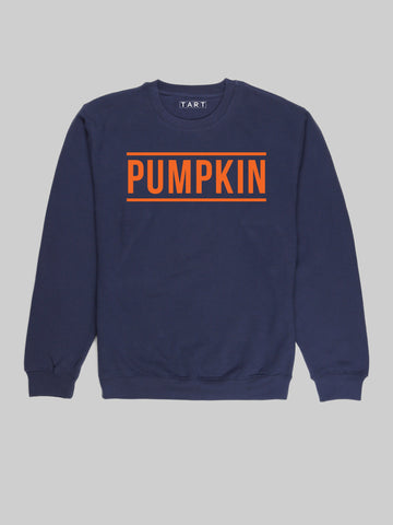 Pumpkin Blue Sweatshirt