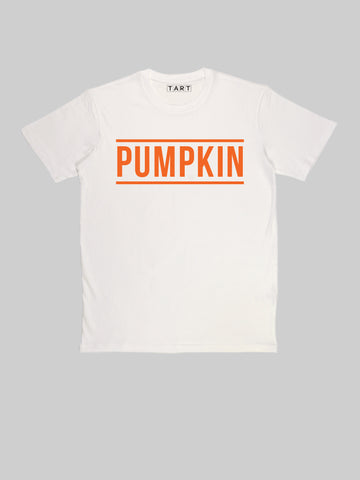 Orange Pumpkin Natural T shirt