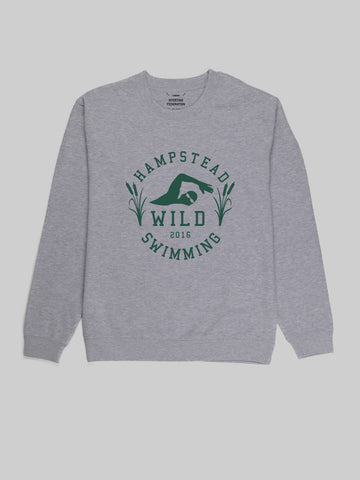 Hampstead Wild Swimming Grey Sweatshirt