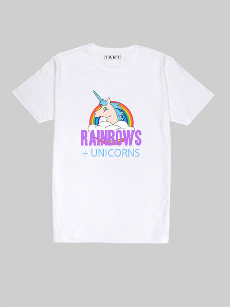 Rainbows and Unicorns T Shirt