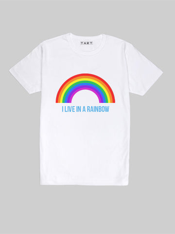 I Live in a Rainbow T shirt