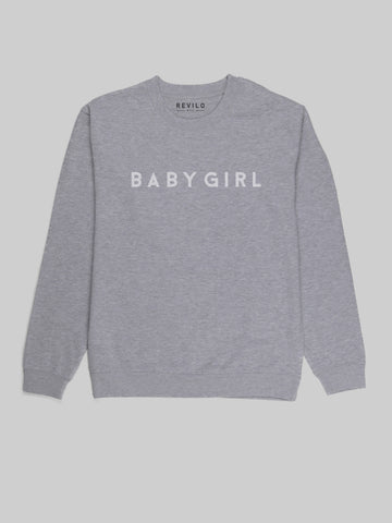 BabyGirl Heather Grey Sweatshirt