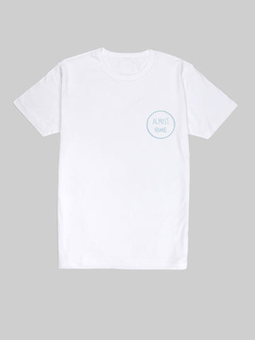Almost Home Blue Logo T Shirt