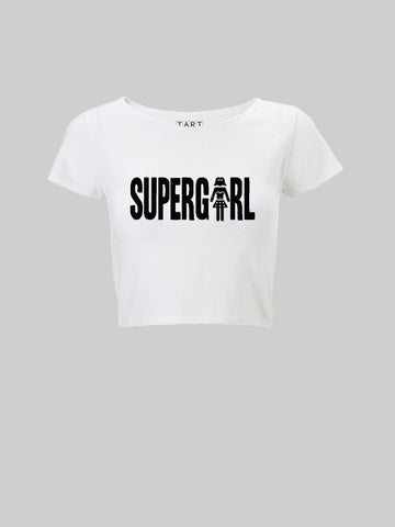 Super Girl Crop Top